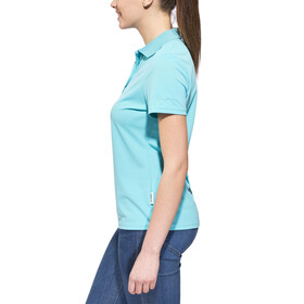 axant Alps Polo Agion Active Women scuba blue